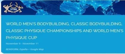 Mundial de Fitness masculino en Benidorm