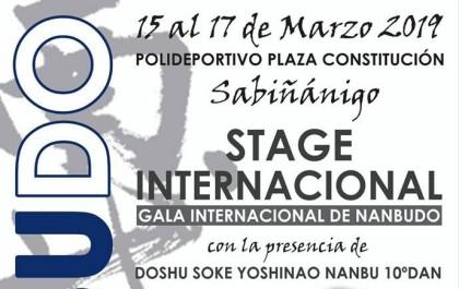 Nanbudo: Stage internacional en Sabiñánigo (Huesca)