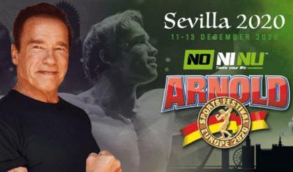 Nueva fecha para el el Arnold Sport Festival Europe 2020
