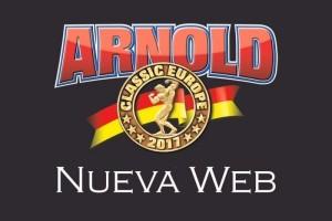 Nueva web del Arnold Classic Europe