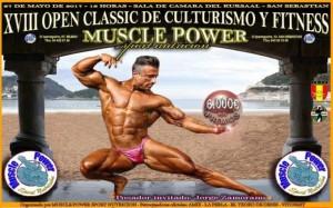 Open Nacional Musclepower, categorias convocadas