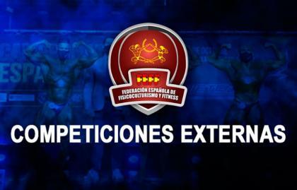 Política sobre Competiciones externas a FEFF-IFBB