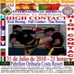 Campeonato Internacional Iberico de HIGH CONTACT & KICK BOXING