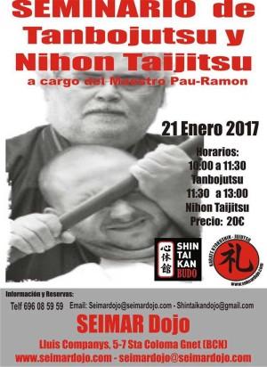Seminario de Tanbojutsu y Nihon Taijitsu