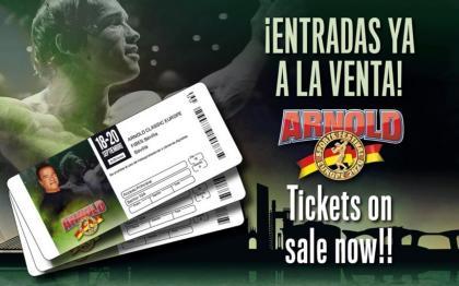 Las entradas para el Arnold Sport Festival Europe 2020 a la venta