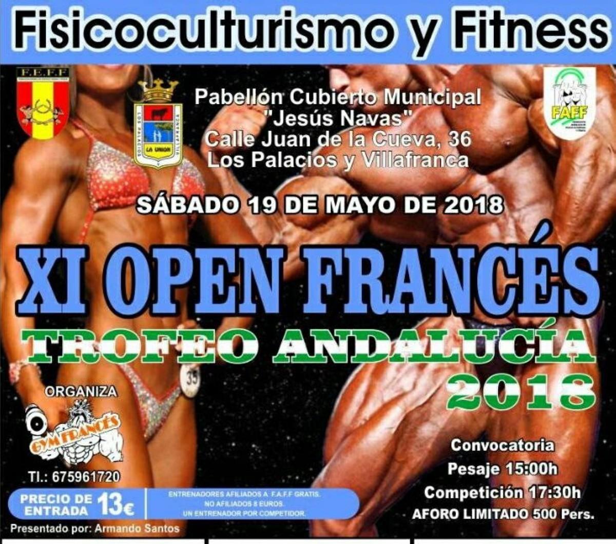 XI Trofeo Andalucía + Open Francés FAFF FEFF 2018