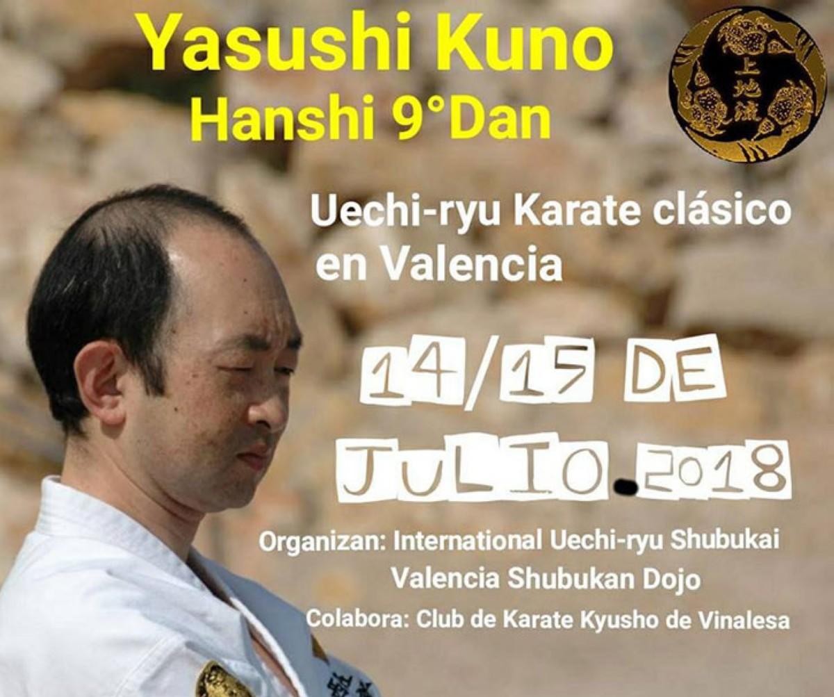 Yasushi Kuno en Valencia