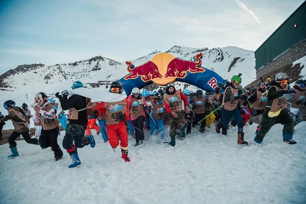 400 participantes en la Red Bull Home Run