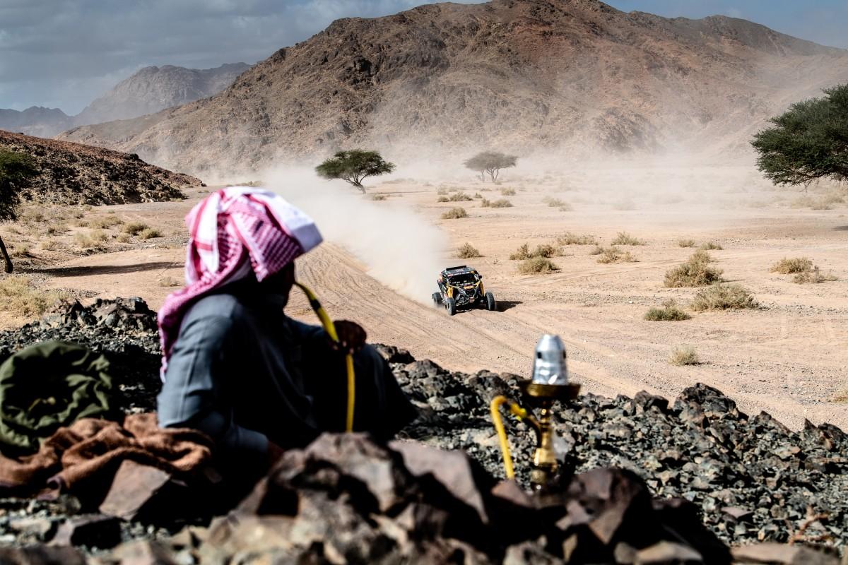 Accidentada cuarta etapa en el Dakar