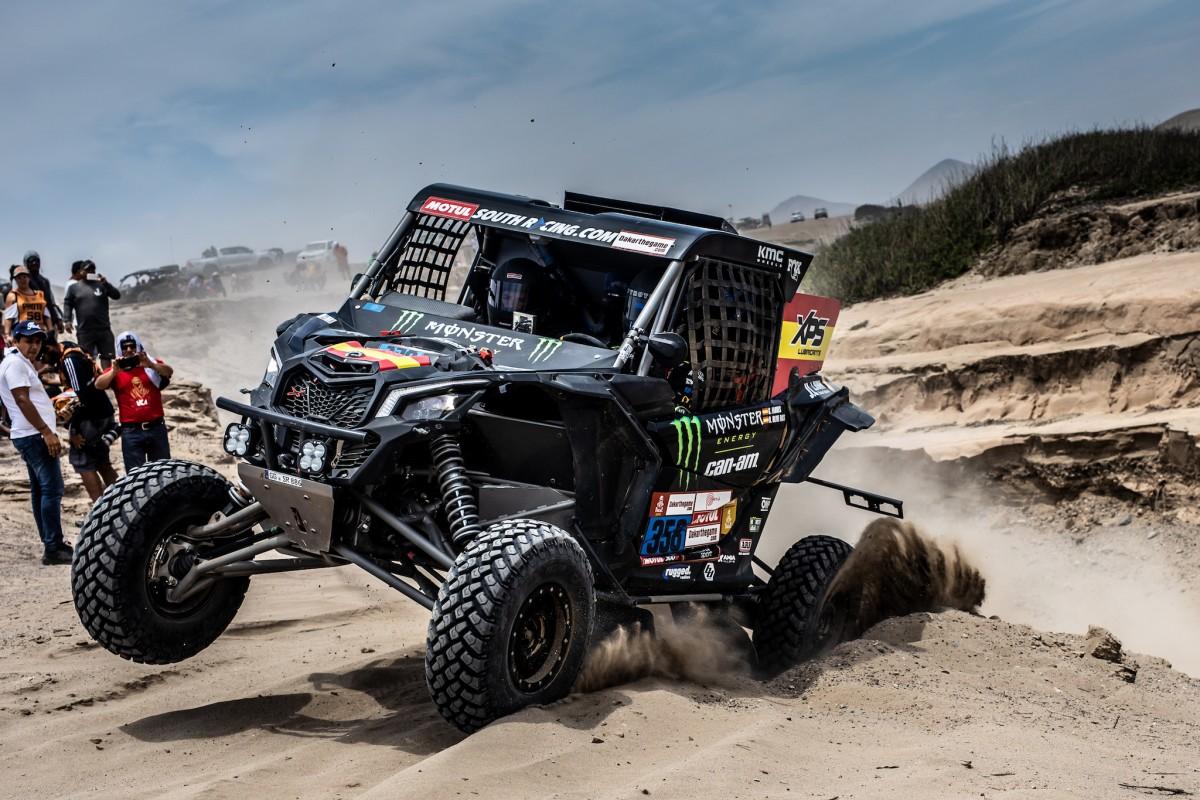 Actuación brillante en la cuarta jornada de este Dakar 2019