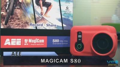 AEE MagiCam S80: La cámara de acción sumergible sin carcasa