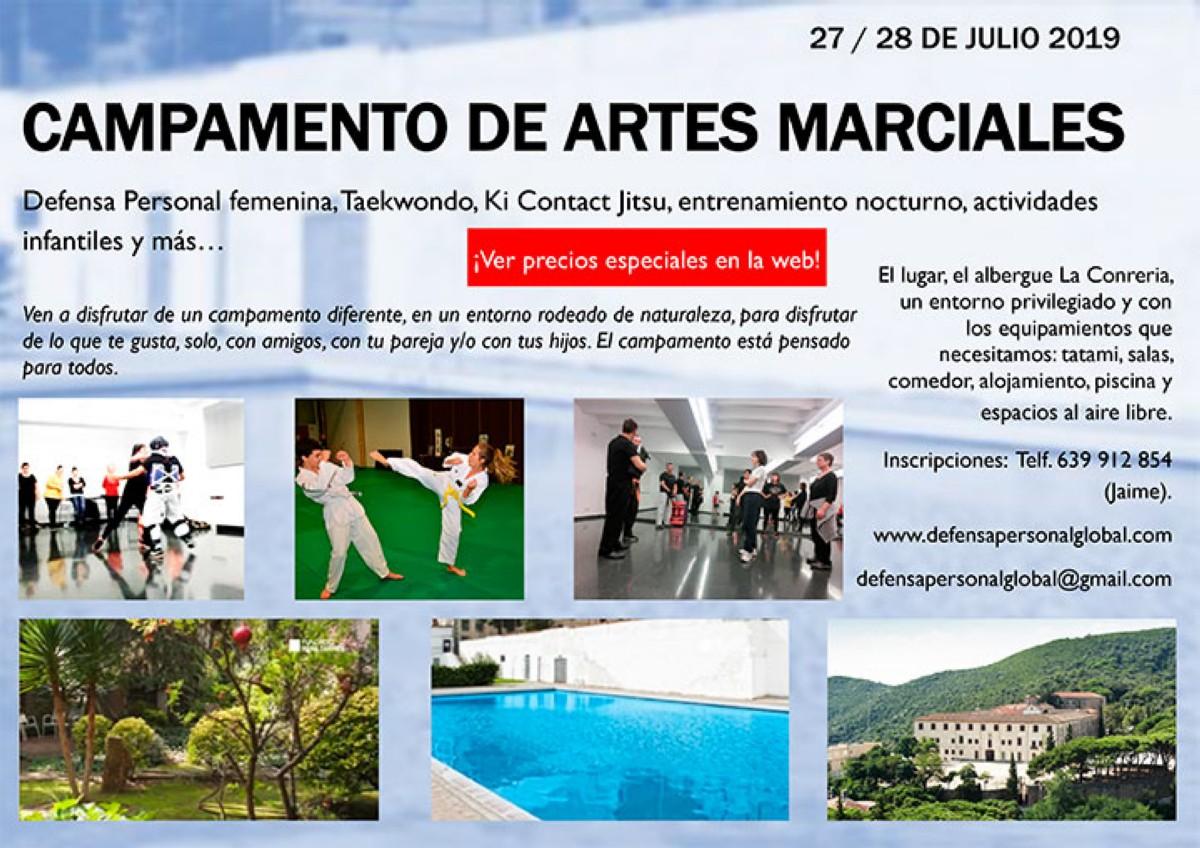 Campamento de Artes Marciales en Tiana (Barcelona)