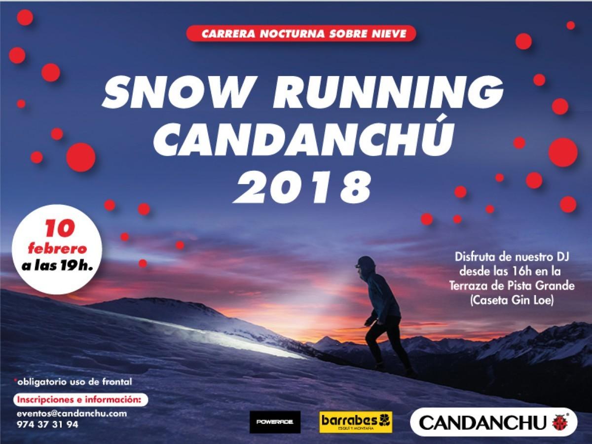 Candanchú celebrará la Snow Running nocturna