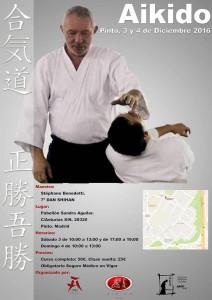 Curso Aikido Stéphane Benedetti Shihan