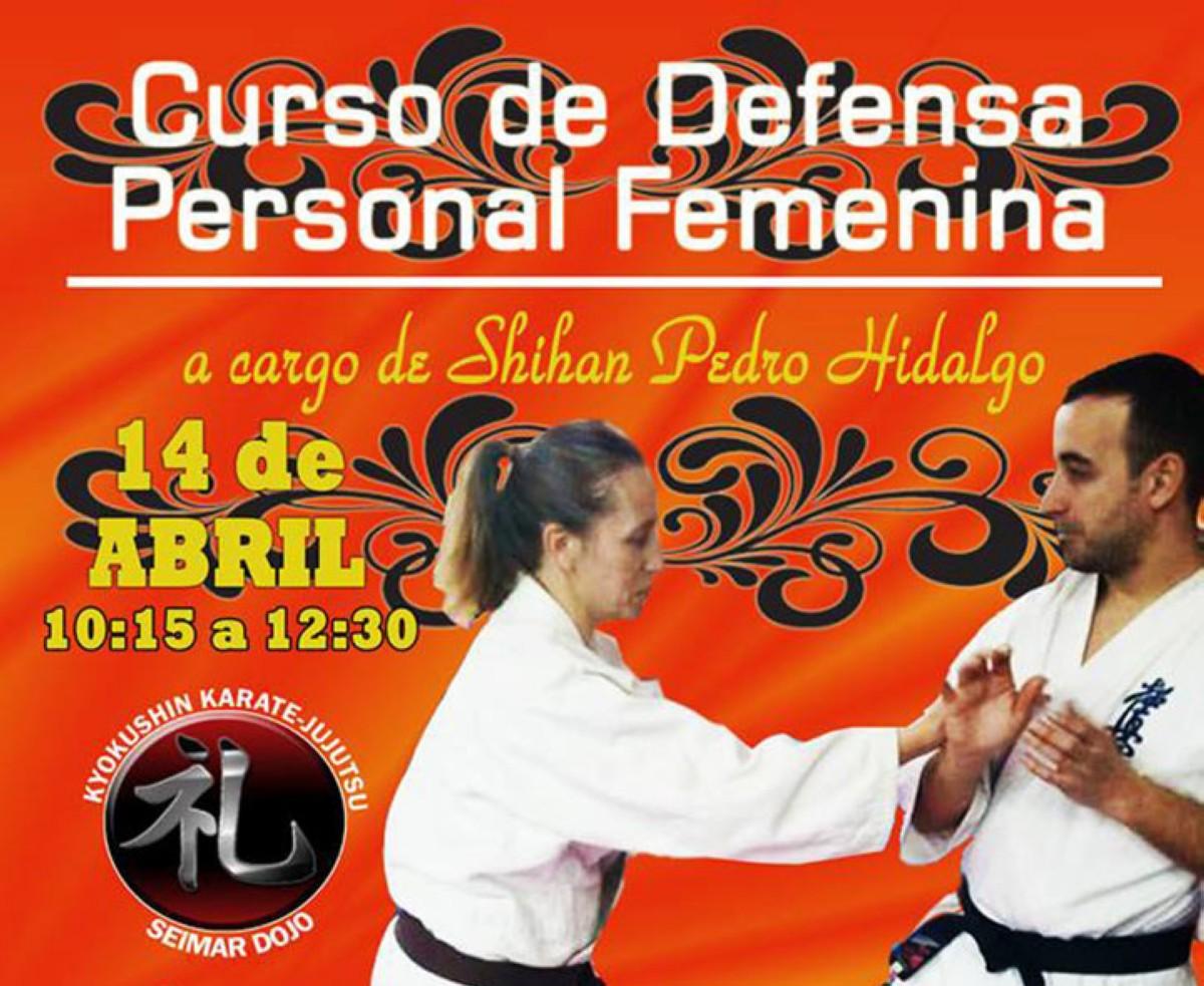 Curso de defensa personal femenina a cargo de Pedro Hidalgo