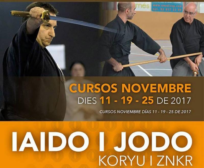 Curso mensual ZNKR-Iaido/Jodo y Koryu en Barcelona