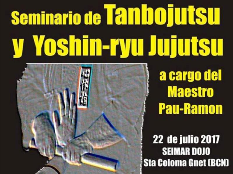 Curso de Tanbojutsu y yoshin-ryu Jujutsu