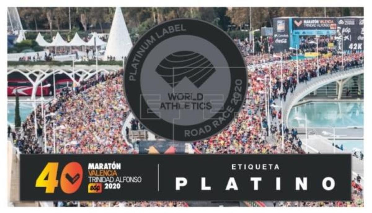 El Maratón Valencia en su 40º Aniversario retrasado