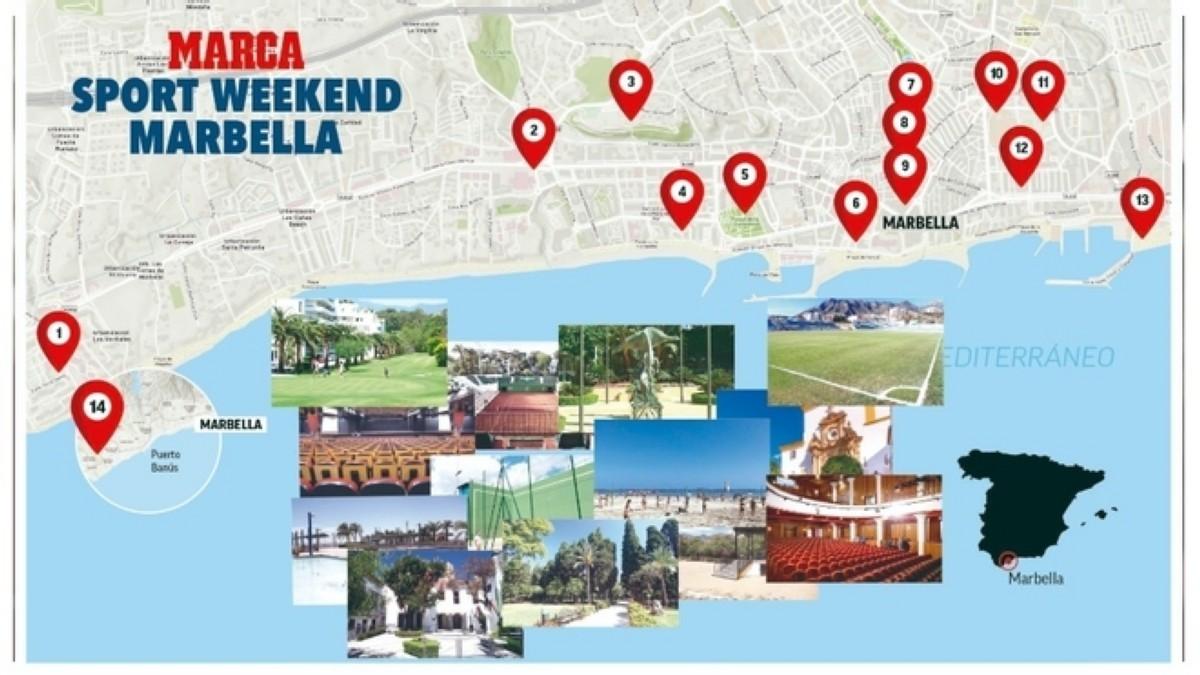 El MARCA Sport Weekend en Marbella