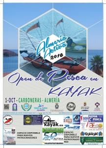El Open de Pesca en Kayak Almería Activa