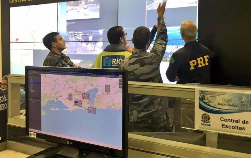 Fuerzas de seguridad realizan ejercicios a gran escala