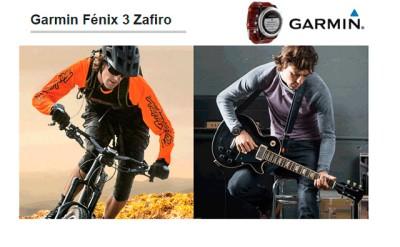Garmin Fénix 3 Zafiro: Para todas las ocasiones