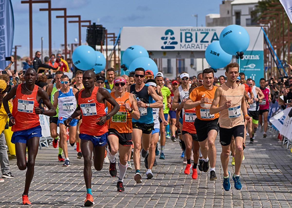 La Santa Eulària Ibiza Marathon a abril del 2021