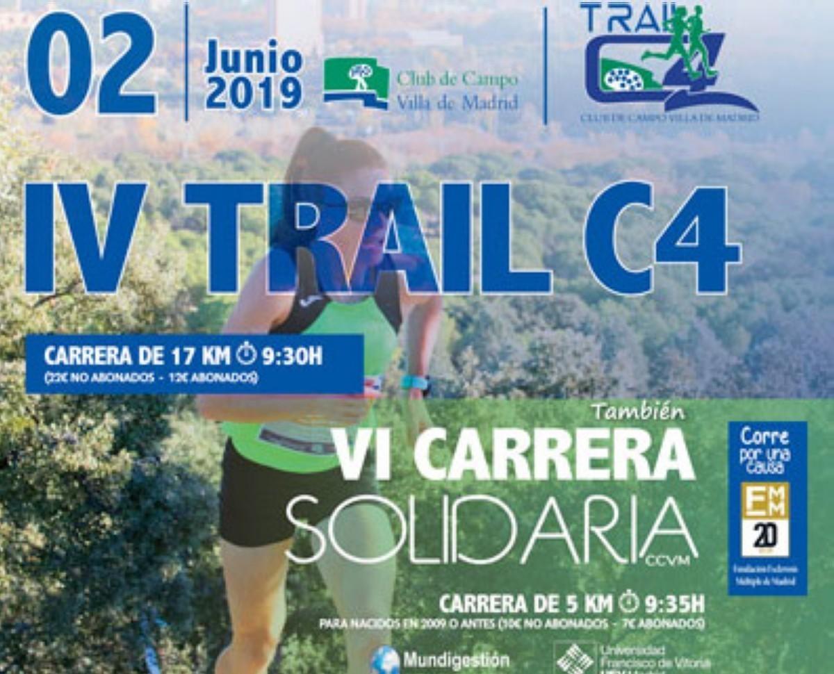 IV Carrera Solidaria Trail C4 en el corazón de Madrid
