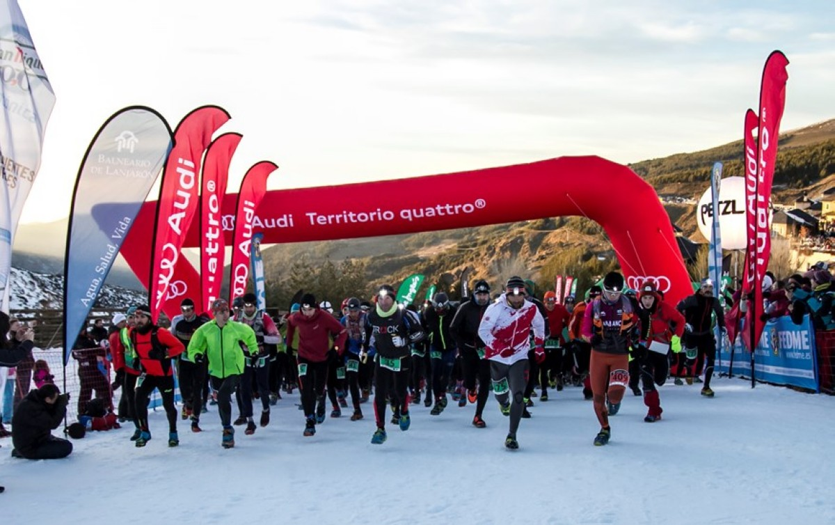 Jacob Gutiérrez repite victoria en Snow Running de Sierra Nevada