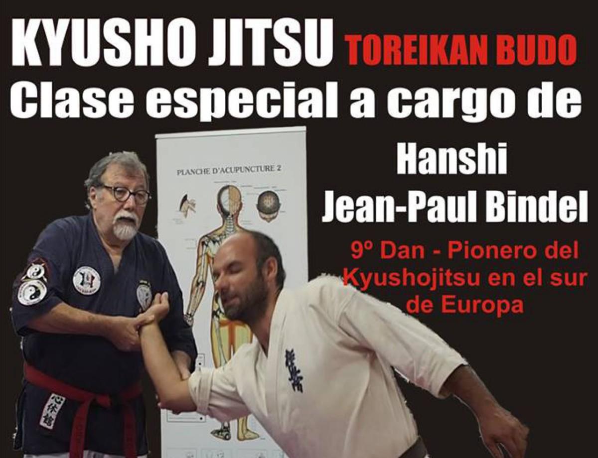Kyusho Jitsu con Hanshi Jean-Paul Bindel en Seimar Dojo