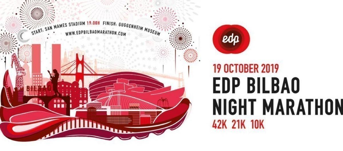 La 11ª edición del EDP Bilbao Night Marathon