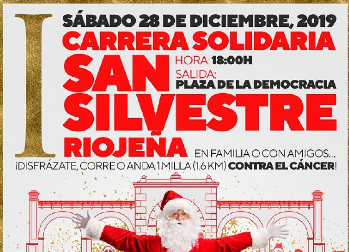 La I Carrera Solidaria San Silvestre Riojeña