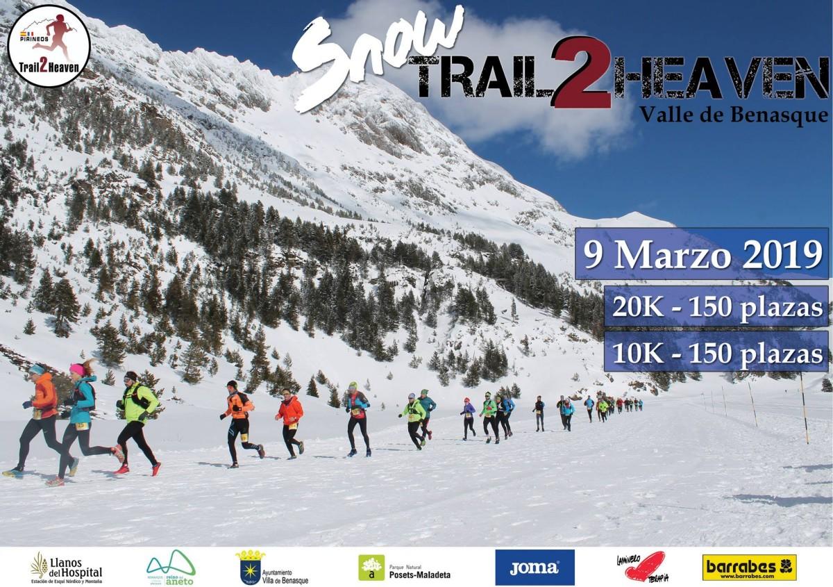 La Snow Trail2Heaven de dos recorridos