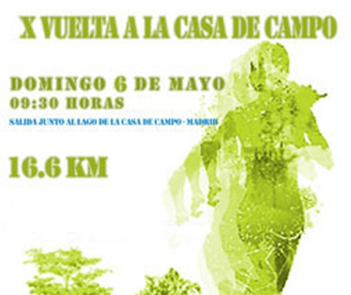La X Vuelta a la Casa de Campo