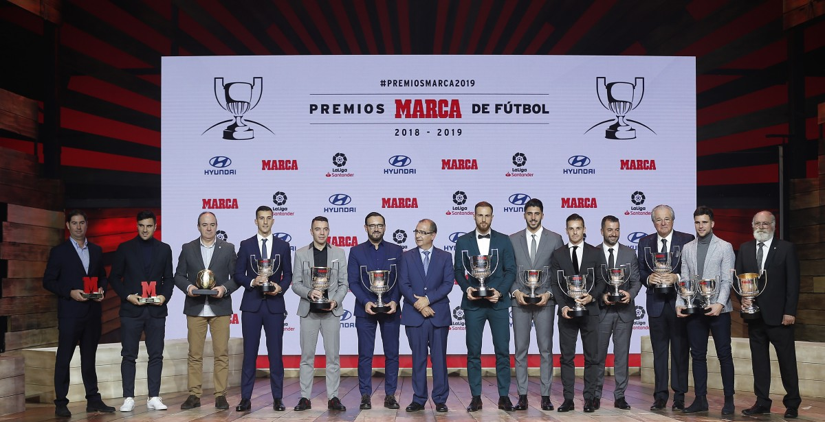 Leo Messi recibe su sexto Pichichi en los Premios MARCA