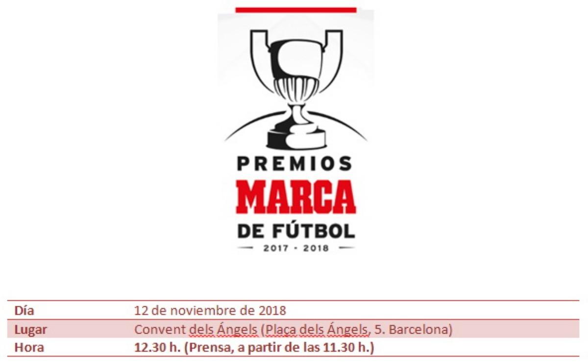 MARCA entrega los Premios de Fútbol