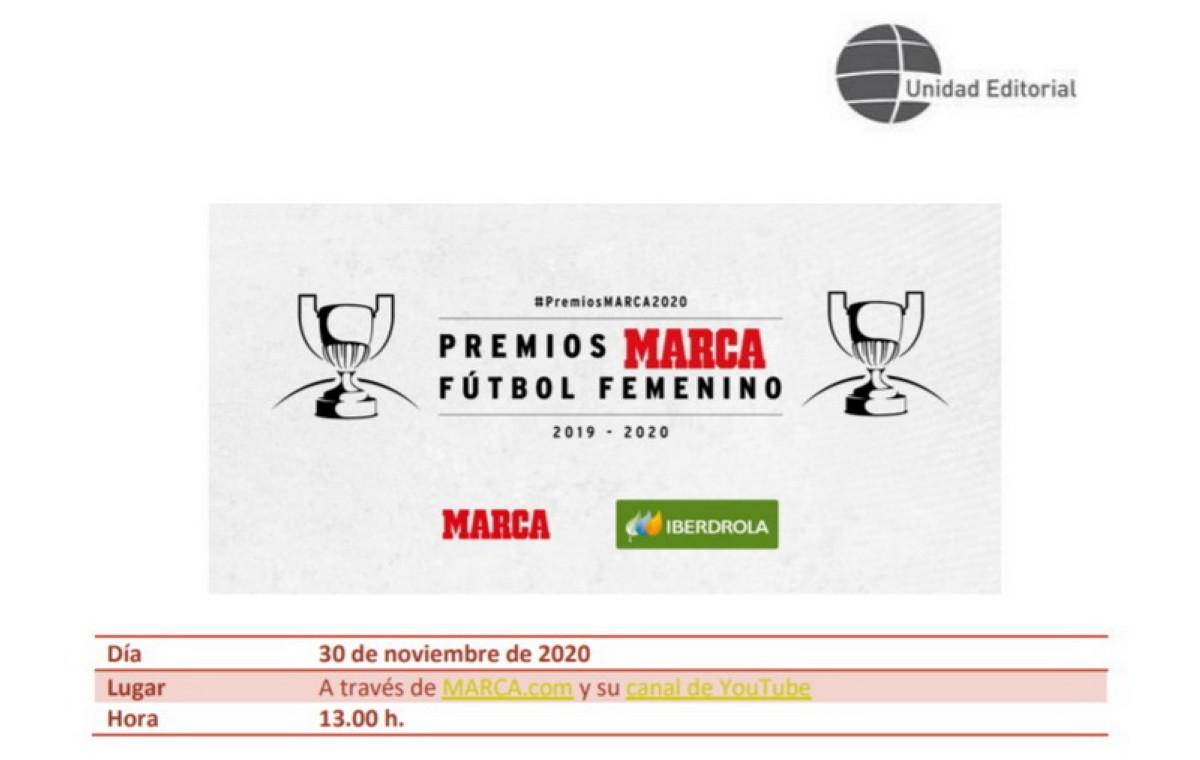 MARCA entrega los Premios de Fútbol femenino
