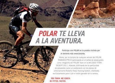 Ganadores concurso Milenio Titan Desert 2011