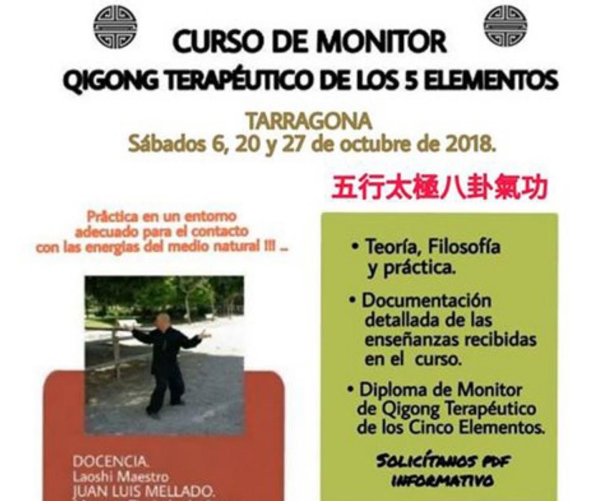 Qigong terapéutico de los Cinco Elementos (curso de monitor)