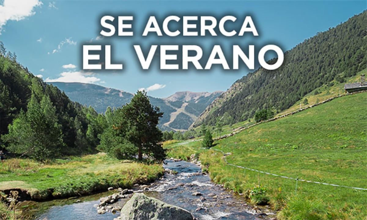 Se acerca el verano...en  Andorra