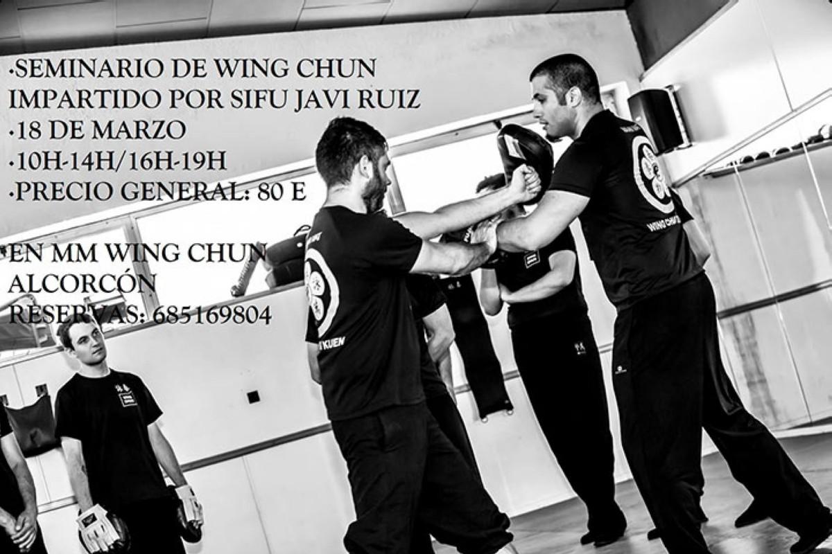 Seminario con Sifu Javi Ruiz