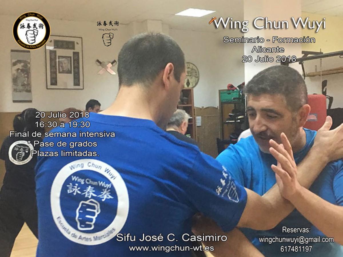 Seminario Wing Chun Wuyi