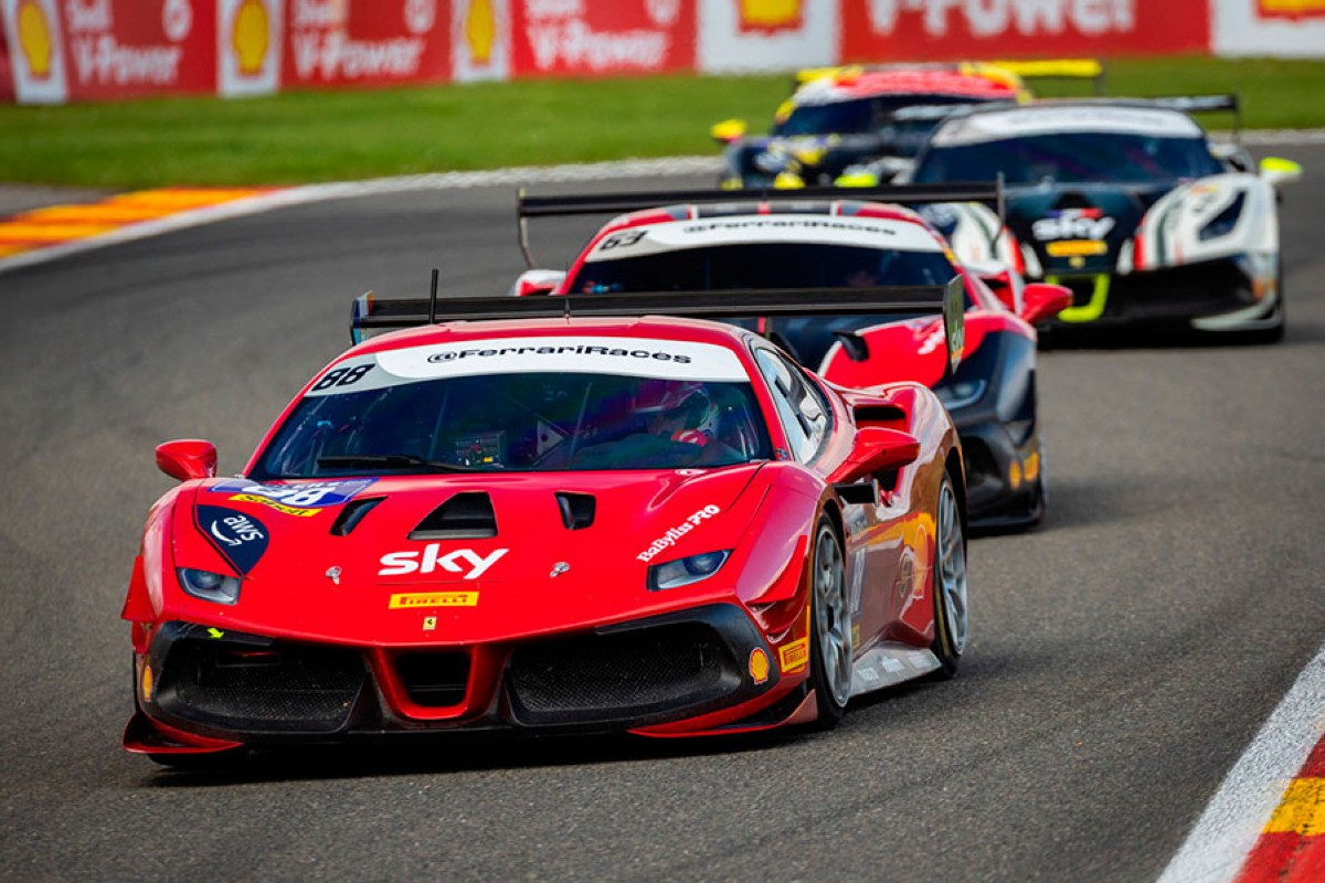 Sergio Paulet lider de la Ferrari Challenge