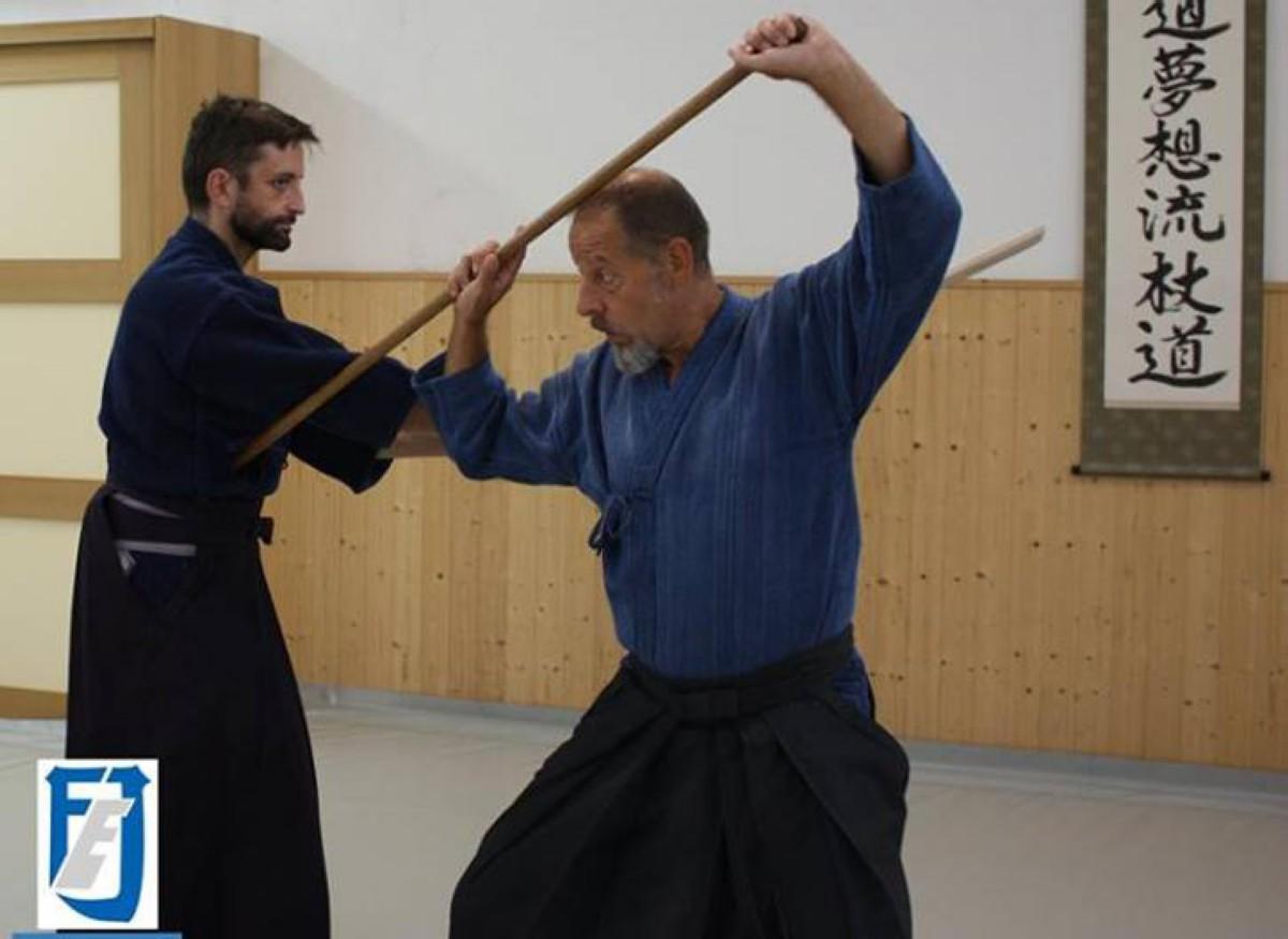 Shinto Muso Ryu Jo con Vicente Borondo