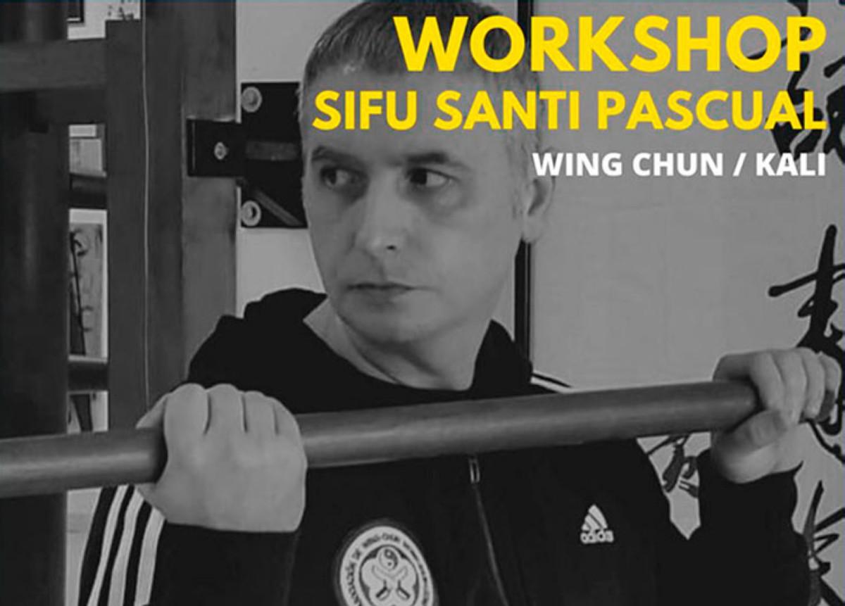 Sifu Santi Pascual en Almería (Wing Chun / Kali)