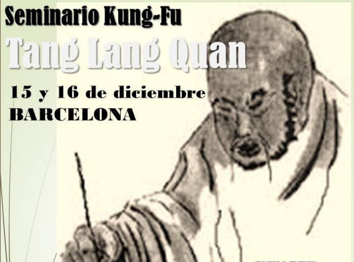 Tang Lang Quan, seminario en Barcelona