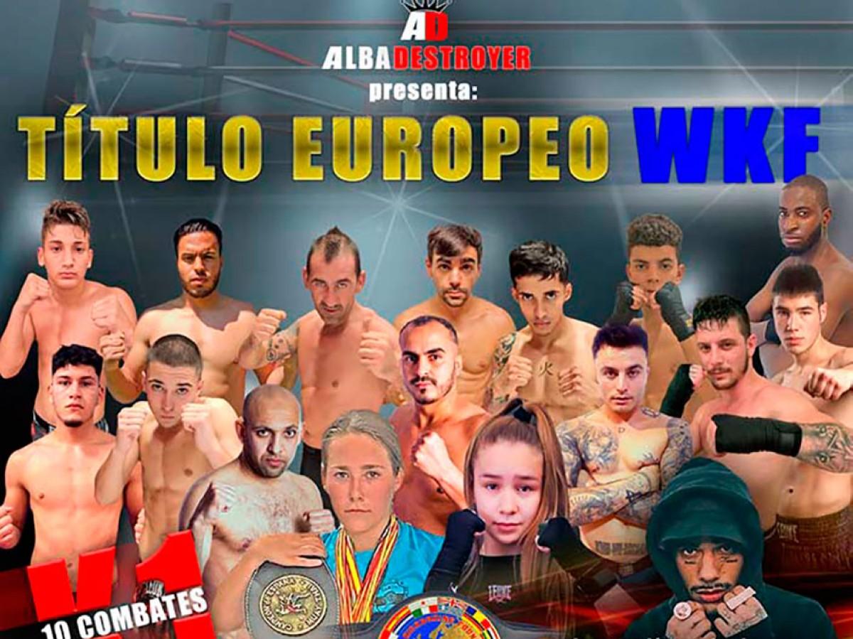 Título Europeo WKF en Cuarte de Huerva