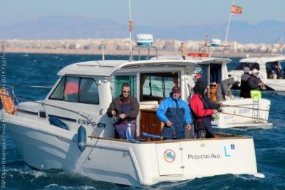 Torrevieja acoje el Open Internacional de Pesca Dúos