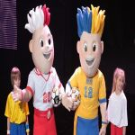 Presentadas las mascotas de la Euro 2012