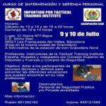 Intervención y Defensa Personal
